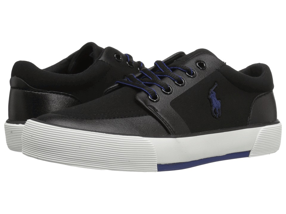 Polo Ralph Lauren Kids - Faxon II SP (Big Kid) (Black Sportbuck) Kid's Shoes