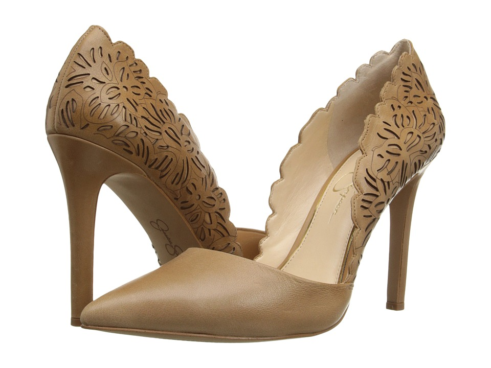 Jessica Simpson Cassel (Buff Ruby Tumbled) High Heels