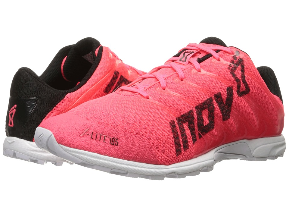 inov-8 F-Lite 195 (Neon Pink/Black/White) Running Shoes