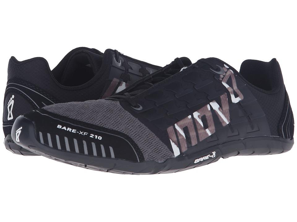 inov-8 - Bare-XF 210 (Black/Grey/White) Running Shoes