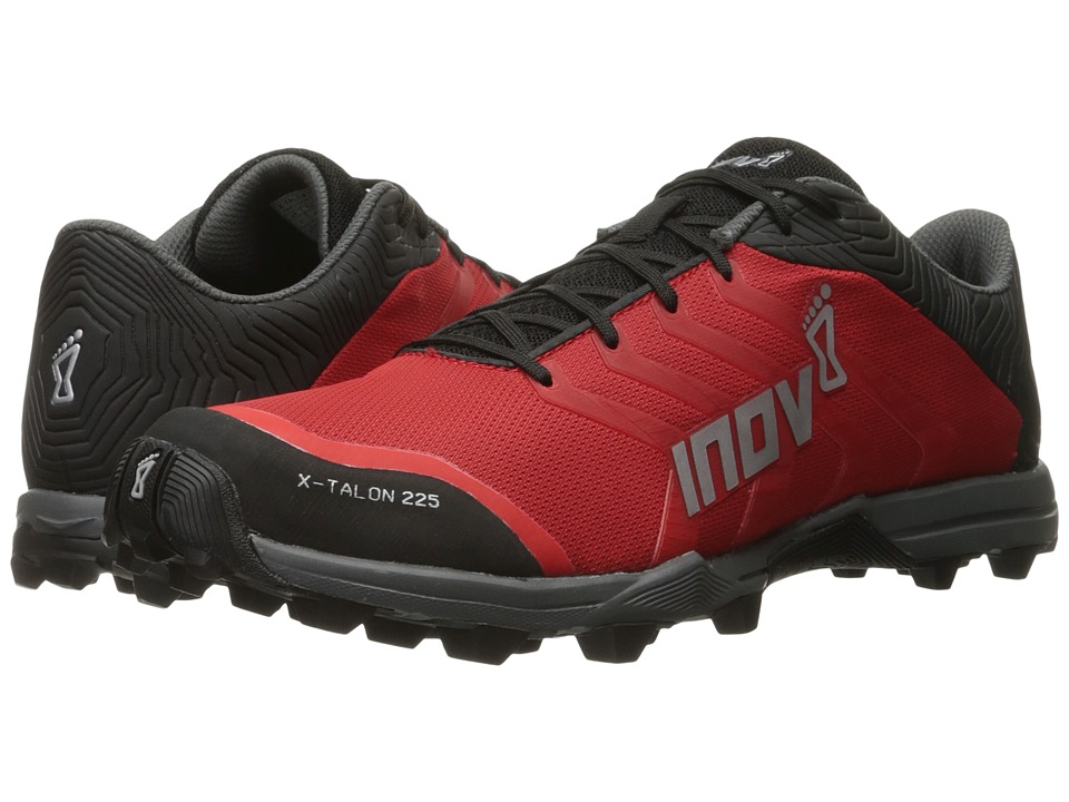 inov-8 - X-Talon 225 (Red/Black/Grey) Running Shoes
