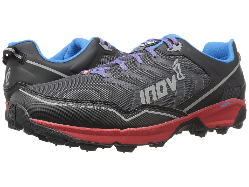 inov-8 - Arctic Claw 300 Thermo (Grey/Red/Blue) Running Shoes