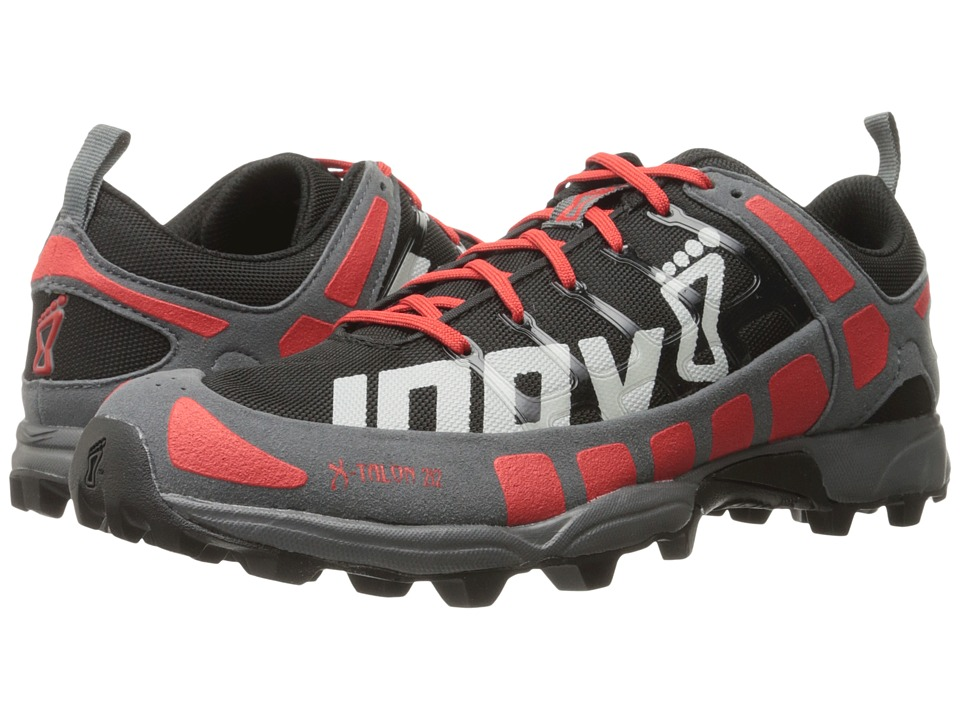 inov-8 - X-Talon 212 (Black/Red/Grey) Running Shoes