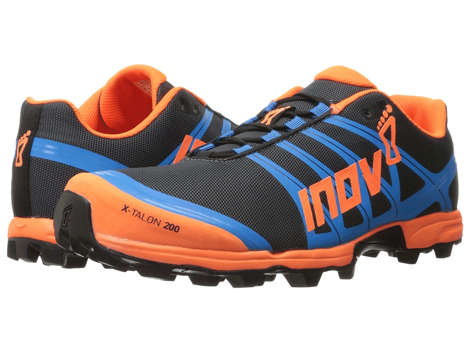 inov-8 - X-Talon 200 (Grey/Orange/Blue) Running Shoes