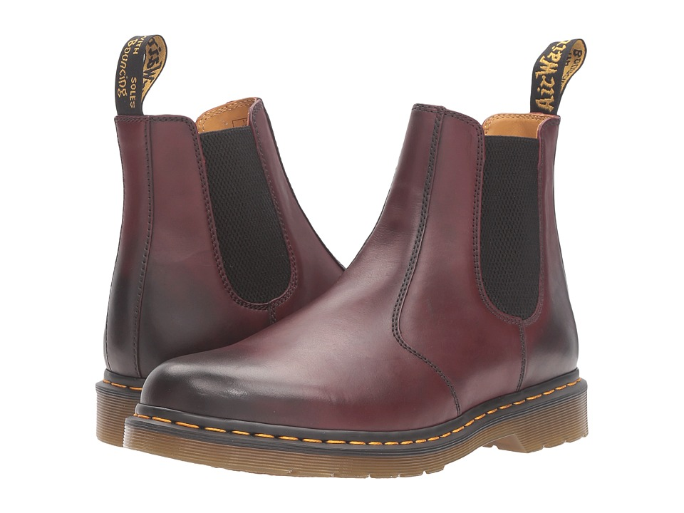 Dr. Martens 2976 Chelsea Boot (Cherry Antique Temperley) Lace-up Boots