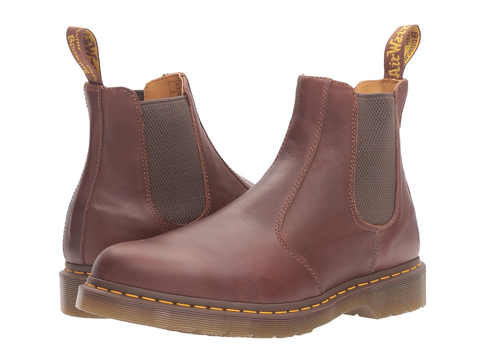 Dr. Martens 2976 Chelsea Boot (Tan Carpathian) Lace-up Boots