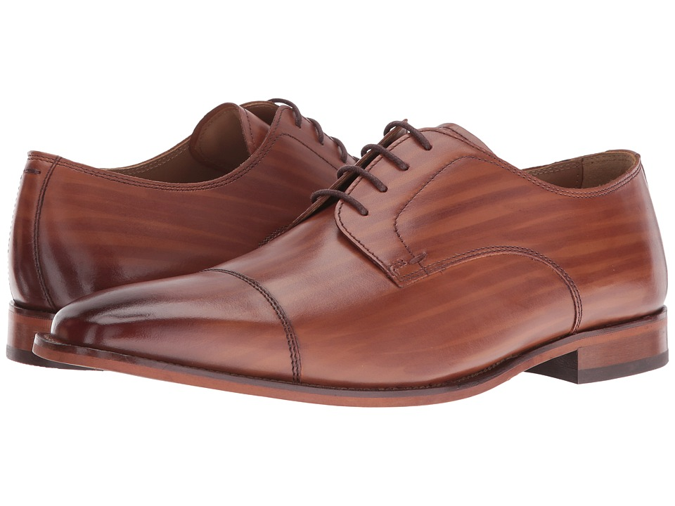 Florsheim - Sabato Cap Ox (Scotch Hand-Brushed) Men's Lace Up Cap Toe Shoes