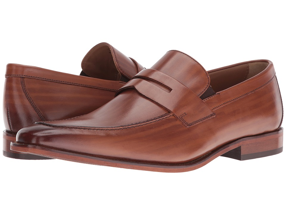 Florsheim - Sabato Penny (Scotch Hand-Brushed) Men's Slip-on Dress Shoes