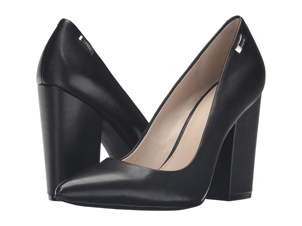 Calvin Klein - Berdie (Black Leather) Women's Shoes