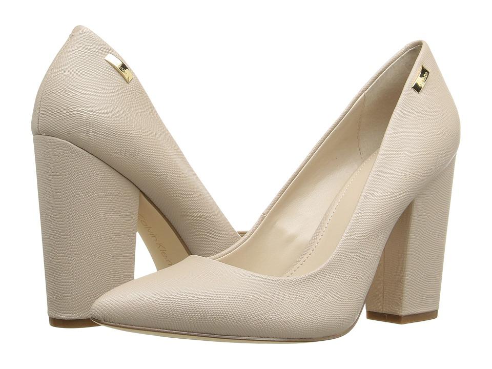 Calvin Klein - Berdie (Cocoon Matte Lizard Print) Women's Shoes