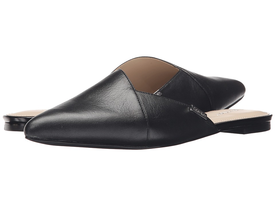 Calvin Klein - Garnett (Black Leather) Women's Shoes