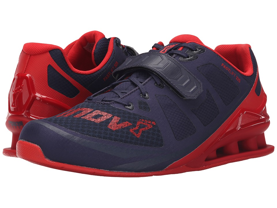 inov-8 - FastLift 325 (Navy/Red) Men's Running Shoes