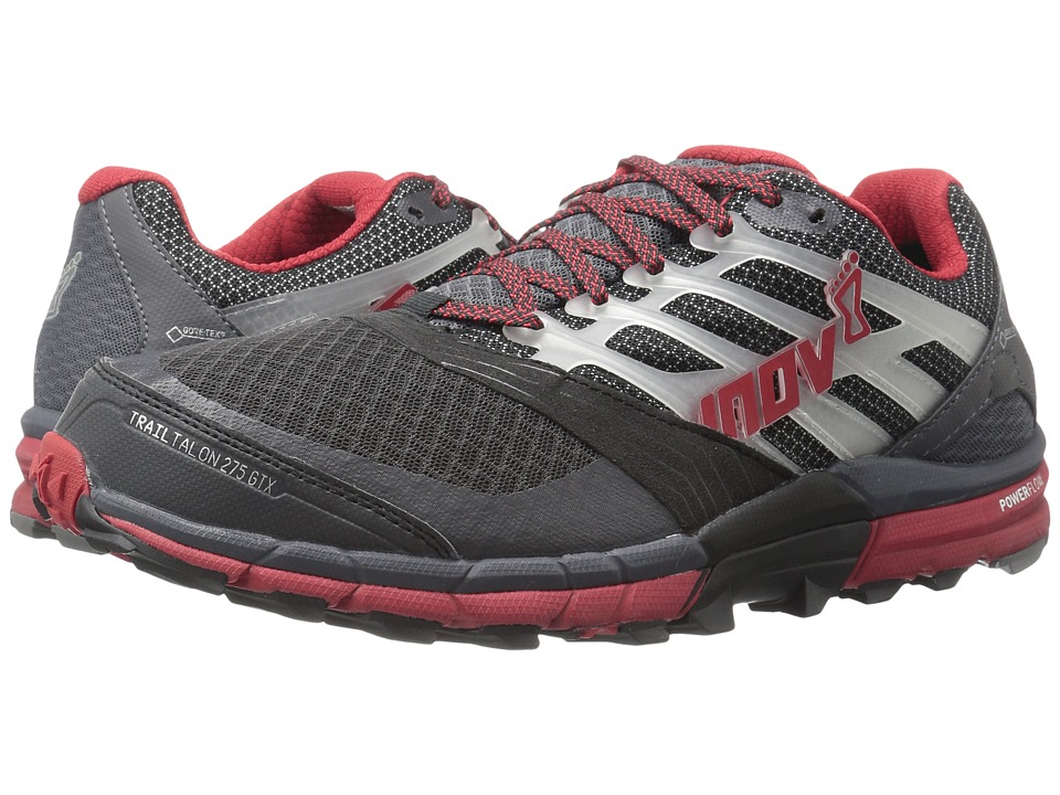 inov-8 - TrailTalon 275 GTX (Grey/Dark Red) Men's Running Shoes