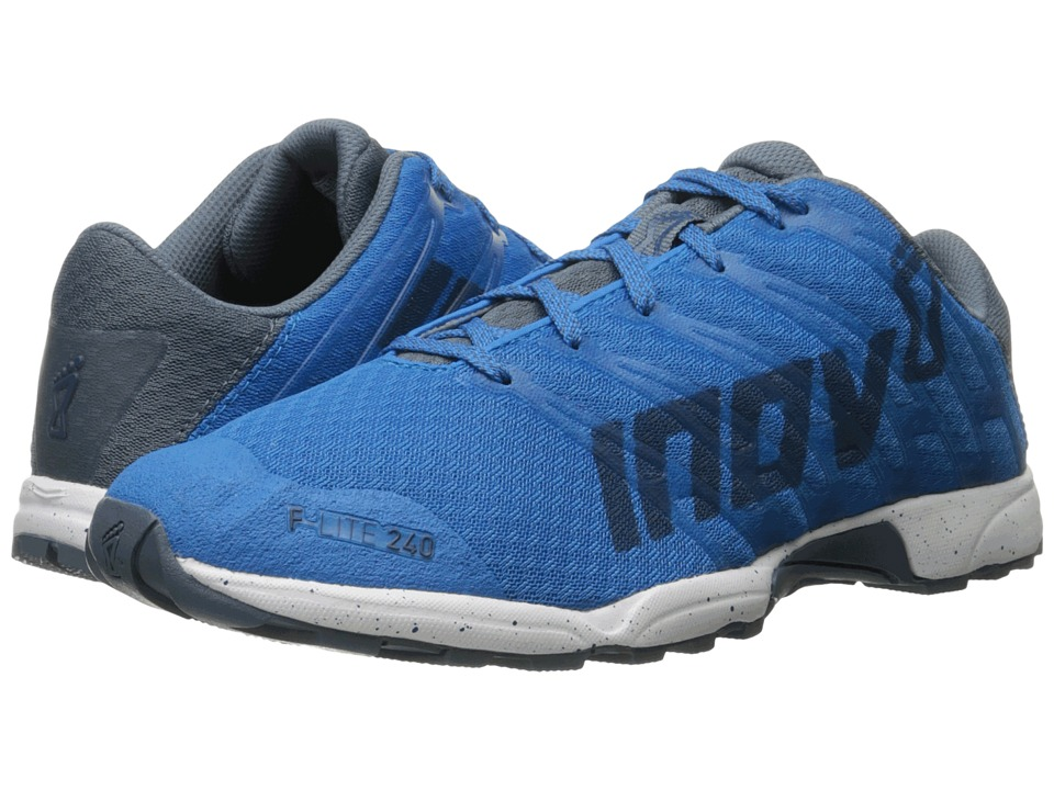 inov-8 - F-Lite 240 (Blue/Grey/White) Men's Running Shoes