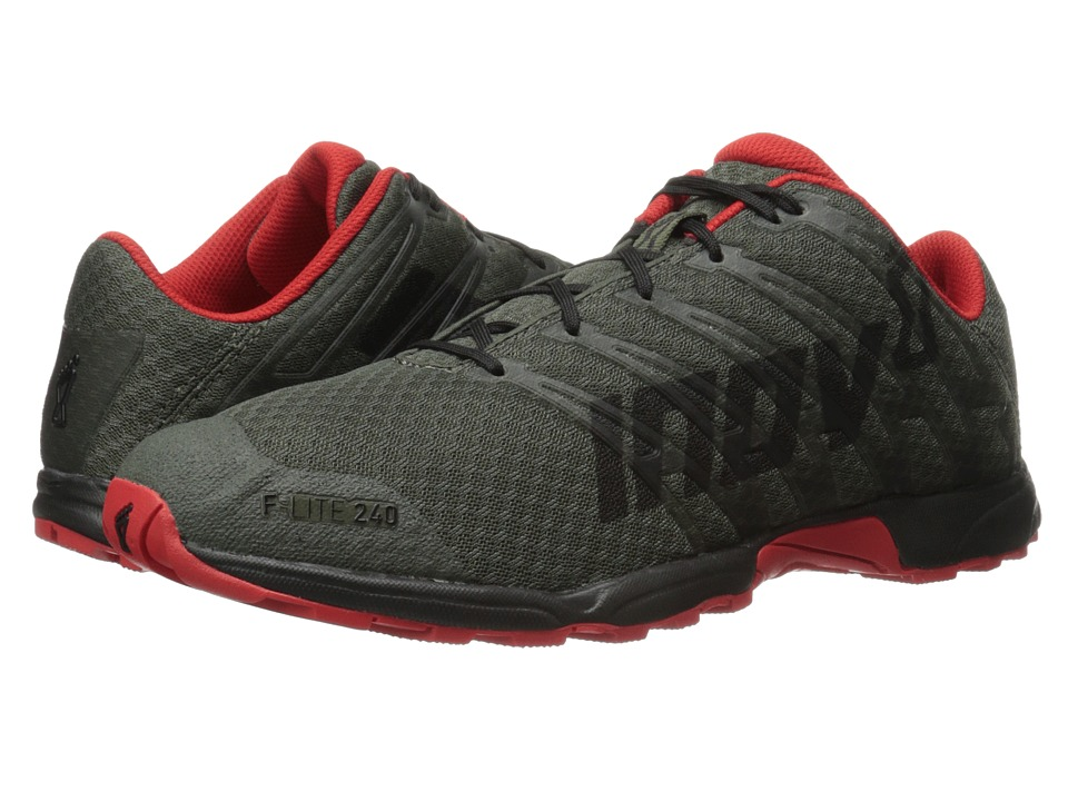 inov-8 - F-Lite 240 (Thyme/Black/Red) Men's Running Shoes