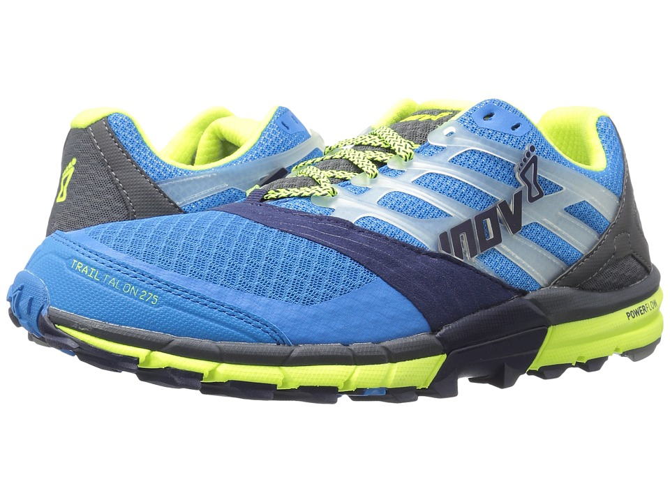 inov-8 - TrailTalon 275 (Blue/Navy/Grey/Lime) Men's Running Shoes