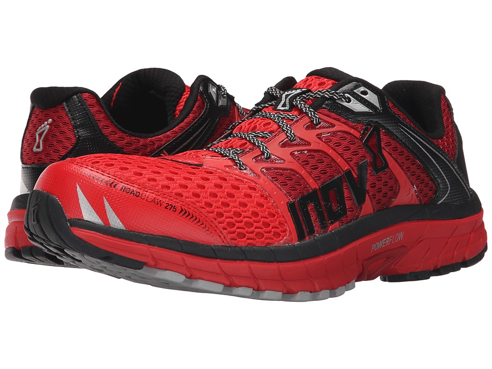 inov-8 - Road Claw 275 (Red/Dark Red/Black) Men's Running Shoes