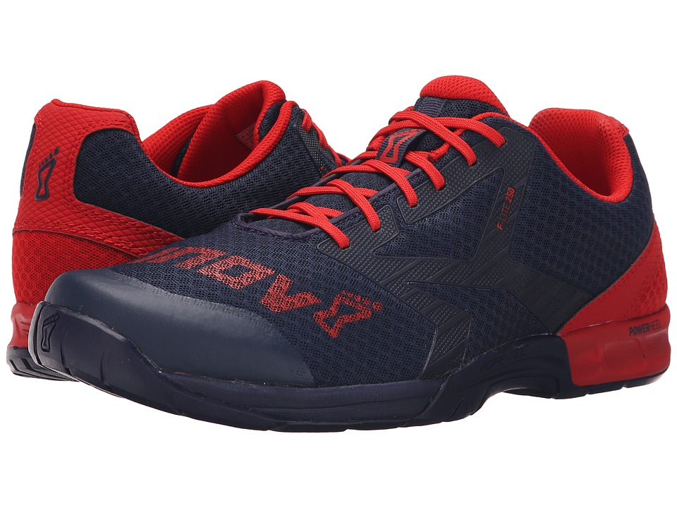 inov-8 - F-Lite 250 (Navy/Red) Men's Running Shoes