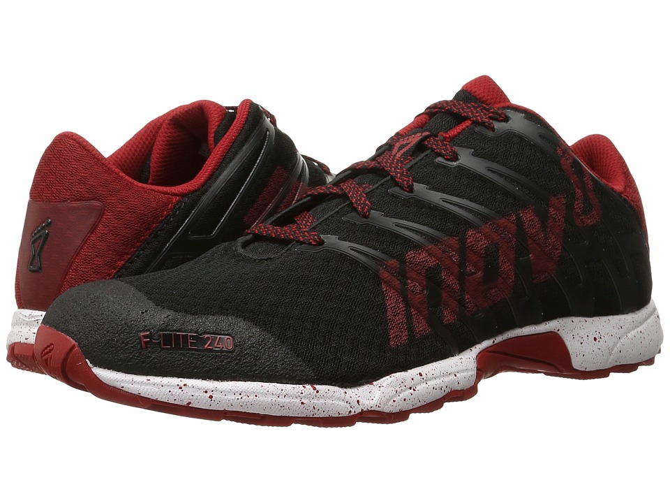 inov-8 - F-Lite 240 (Black/Dark Red/White) Men's Running Shoes