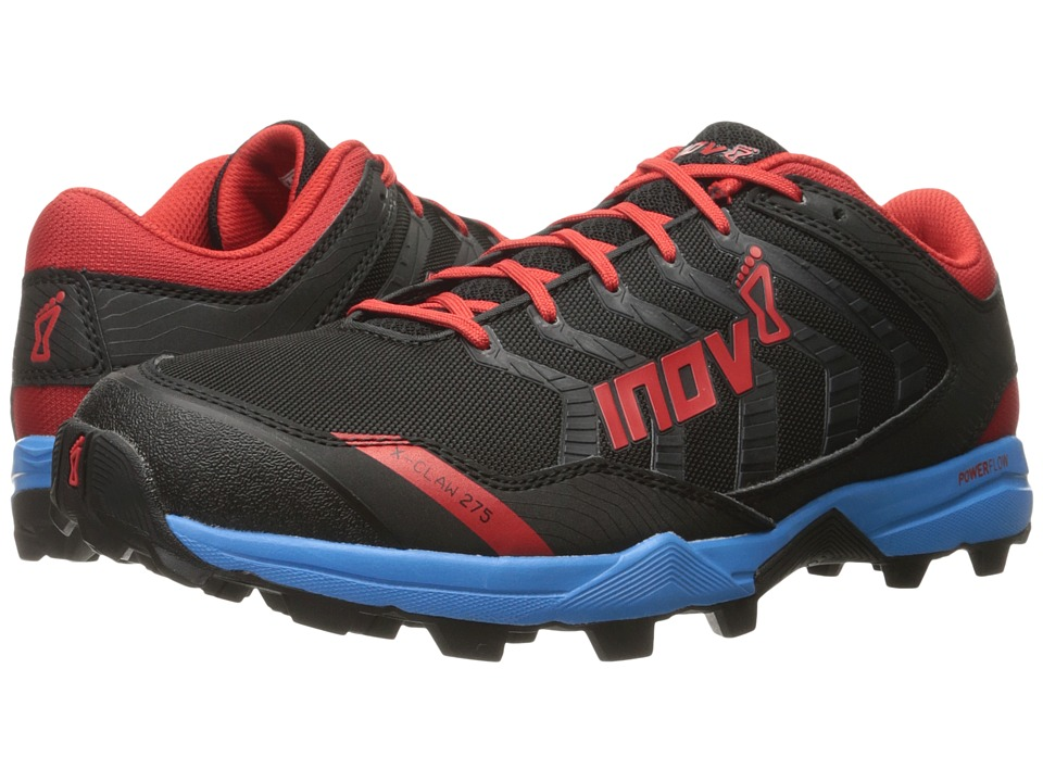 inov-8 - X-Claw 275 (Black/Blue/Red) Men's Running Shoes