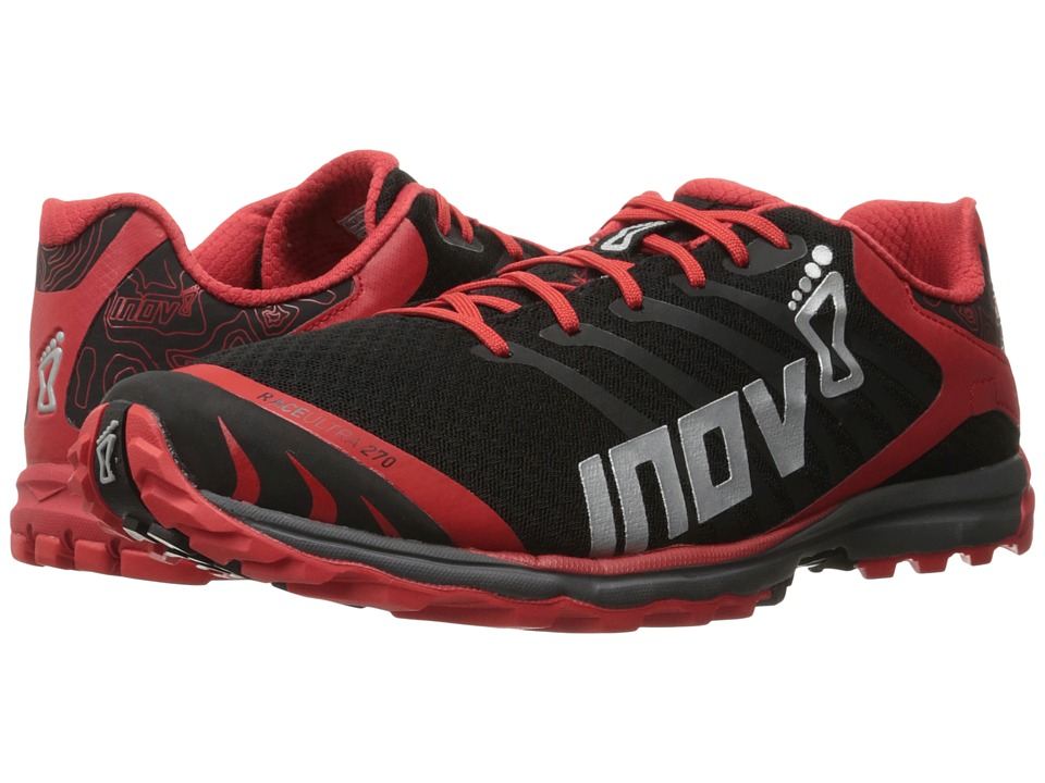 inov-8 - Race Ultra 270 (Black/Red/Grey) Men's Running Shoes