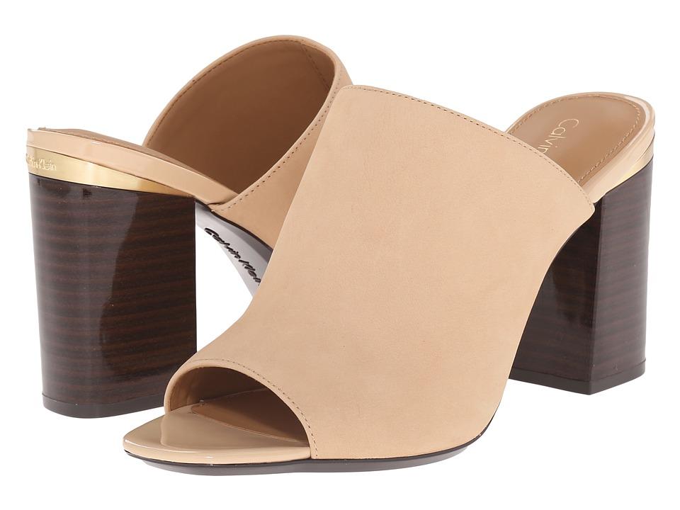 Calvin Klein - Cice (Sandstorm Nubuck) High Heels