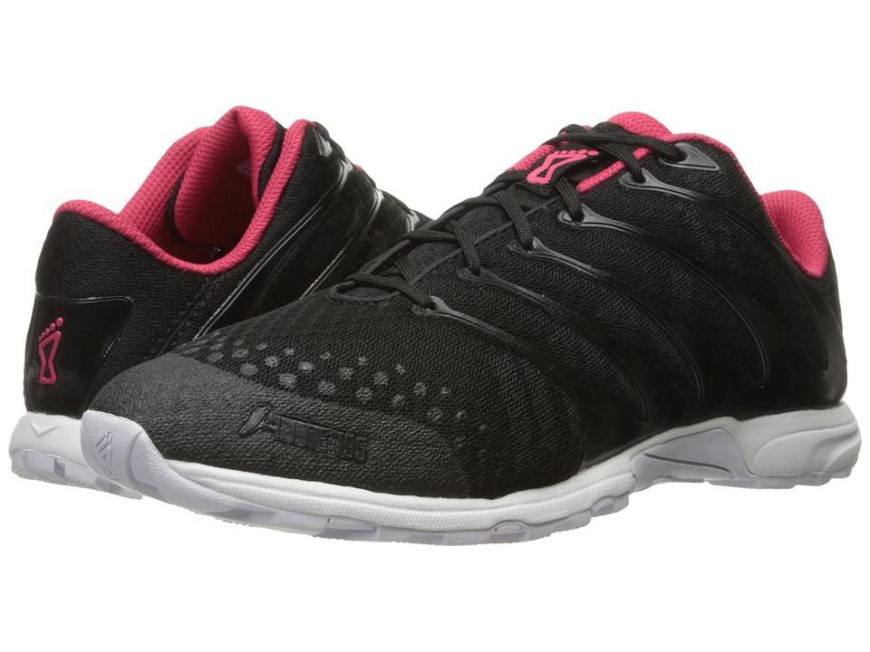 inov8 FLitetm 195 Black Pink White Womens Running Shoes
