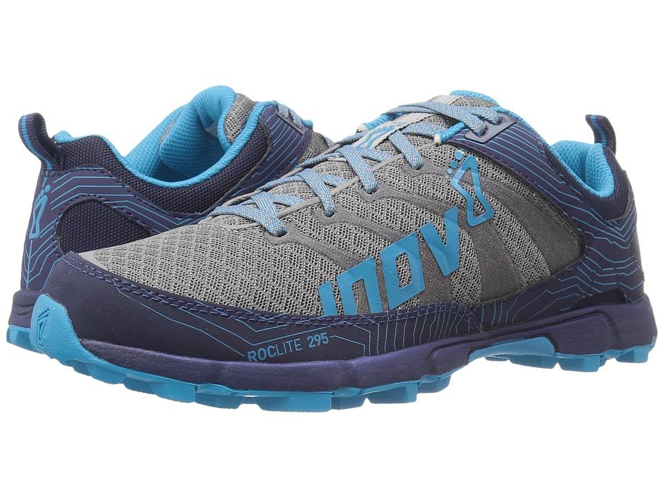 inov-8 - Roclite 295 (Grey/Navy/Blue) Women's Running Shoes