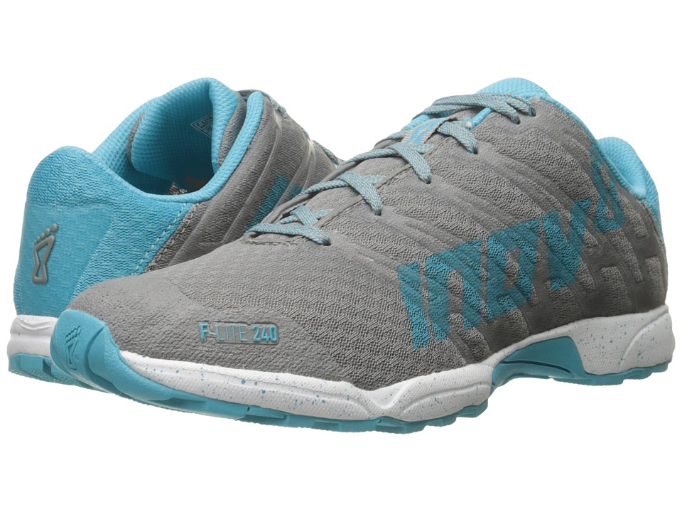 inov-8 - F-Lite 240 (Grey/Blue/White) Women's Running Shoes