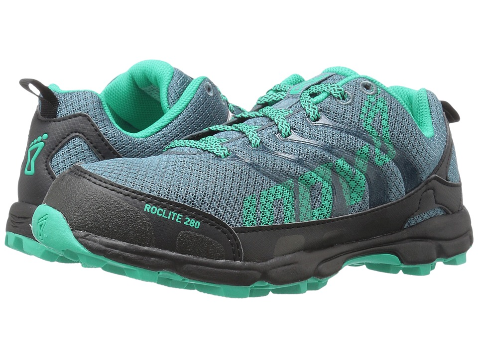 inov-8 - Roclite 280 (Blue/Teal/Grey) Women's Running Shoes