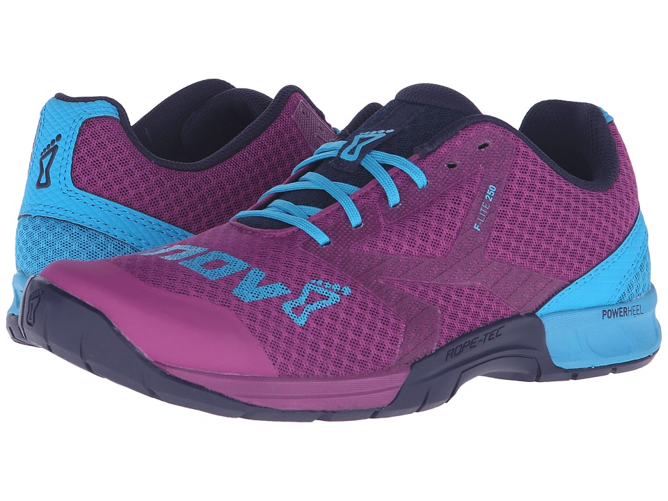 inov-8 F-Lite 250 (Purple/Blue/Navy) Women