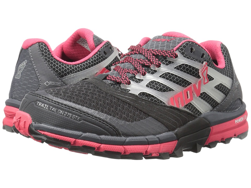 inov-8 - TrailTalon 275 GTX (Grey/Pink) Women's Running Shoes