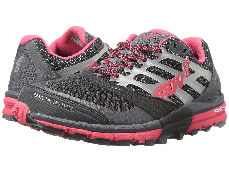 inov-8 - TrailTalon 275 GTX (Grey/Pink) Women's Running Shoes