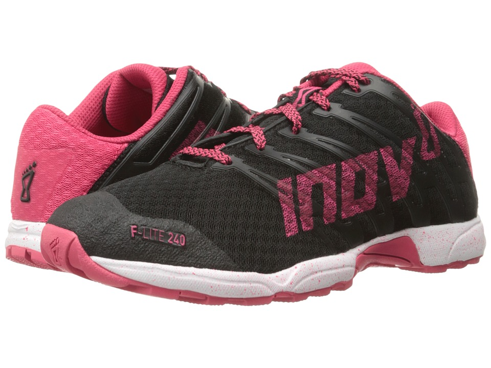 inov-8 - F-Lite 240 (Black/Pink/White) Women's Running Shoes