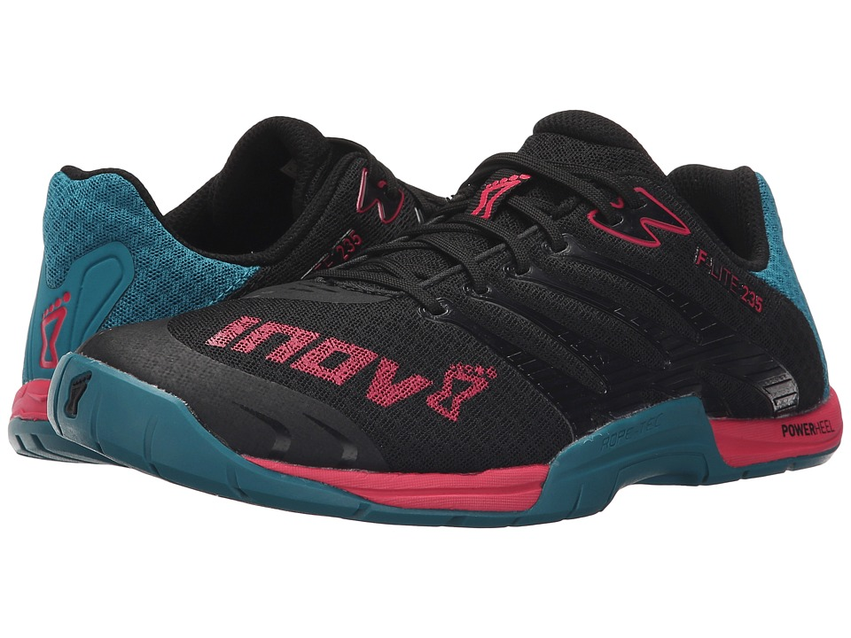 inov-8 - F-Lite 235 (Black/Teal/Berry) Women's Running Shoes