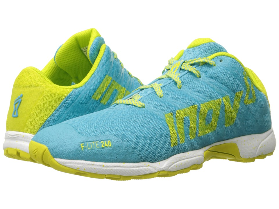 inov-8 - F-Lite 240 (Blue/Lime/White) Women's Running Shoes