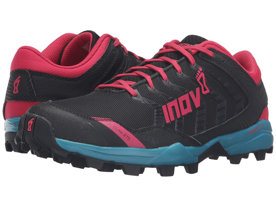 inov-8 - X-Claw 275 (Black/Teal/Berry) Women's Running Shoes