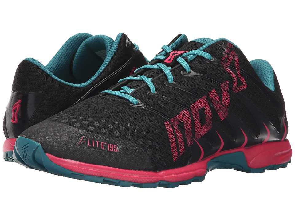 inov-8 - F-Lite 195 (Grey/Berry/Teal) Women's Running Shoes
