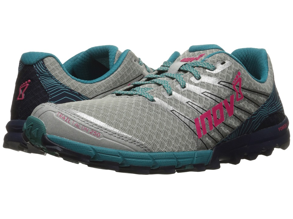 inov-8 - TrailTalon 250 (Silver/Navy/Teal) Women's Running Shoes