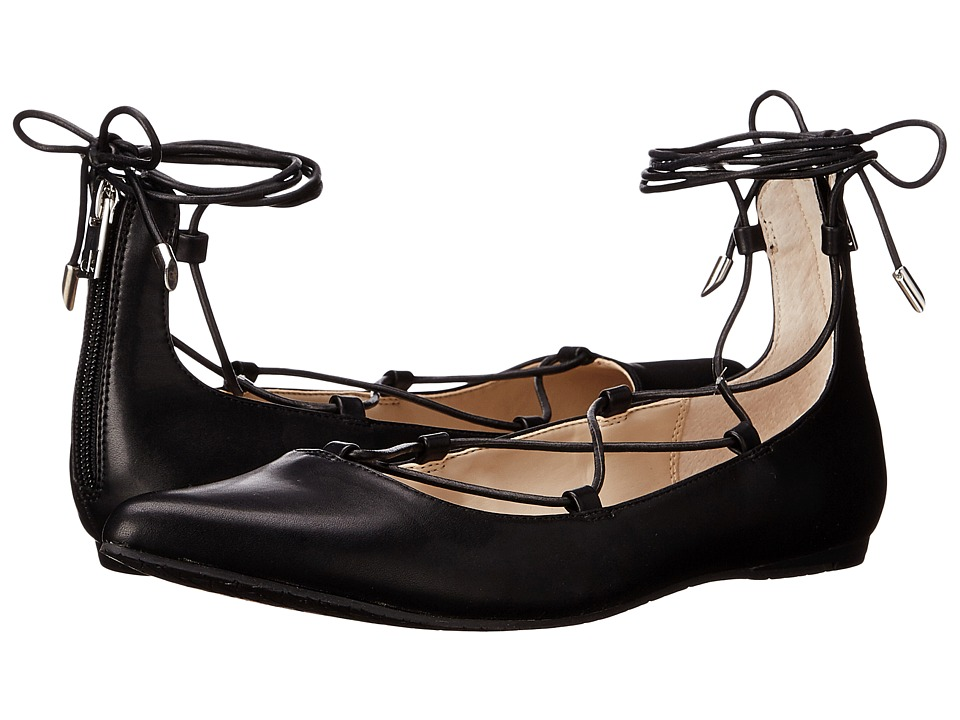 Calvin Klein - Harlin (Black Leather) Women's Shoes