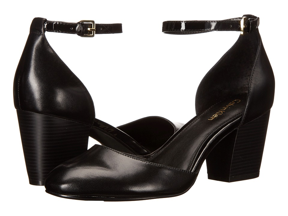 Calvin Klein - Killian (Black Leather) Women's Shoes