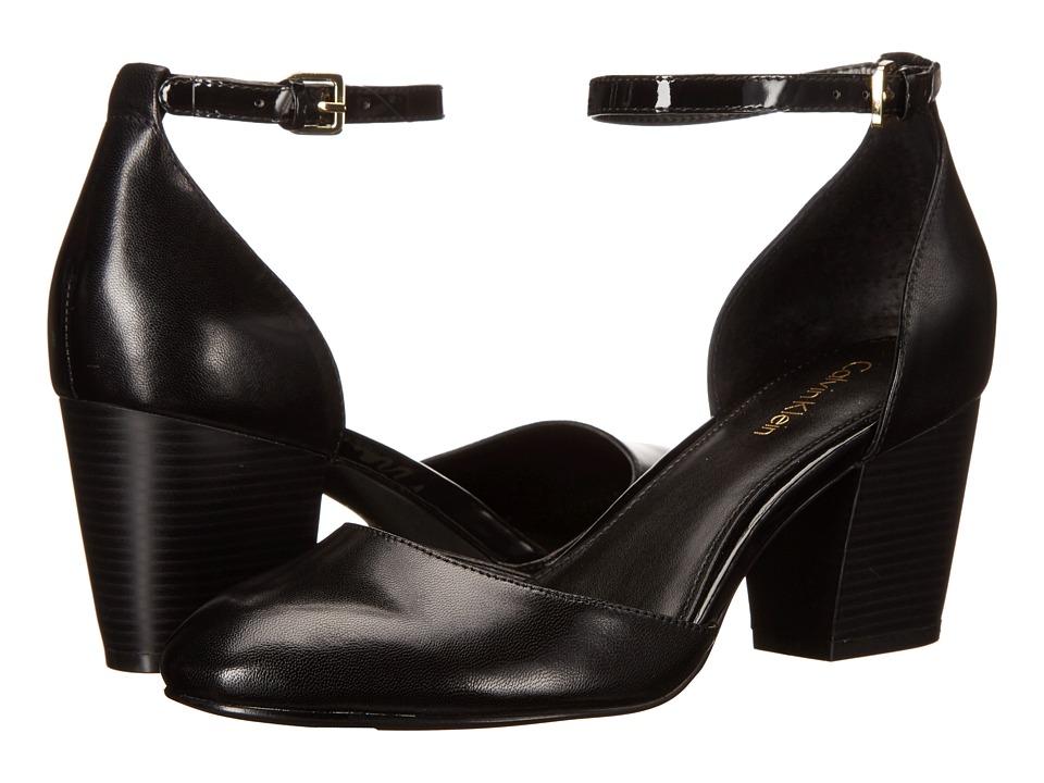 Calvin Klein - Killian (Black Leather) Women's Shoes