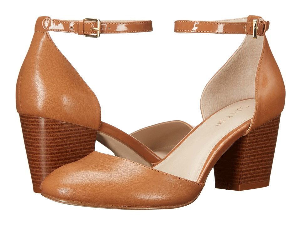 Calvin Klein - Killian (Caramel Leather) Women's Shoes