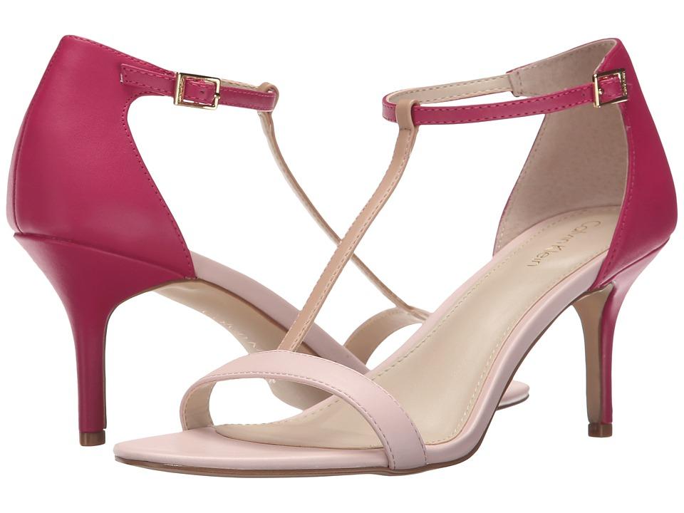 Calvin Klein - Laken (Dancer Pink/Jazzberry Leather) Women's Shoes
