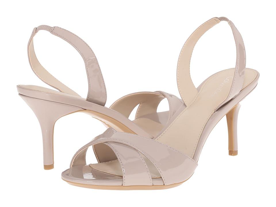 Calvin Klein - Lucette (Greige Patent) Women's Shoes