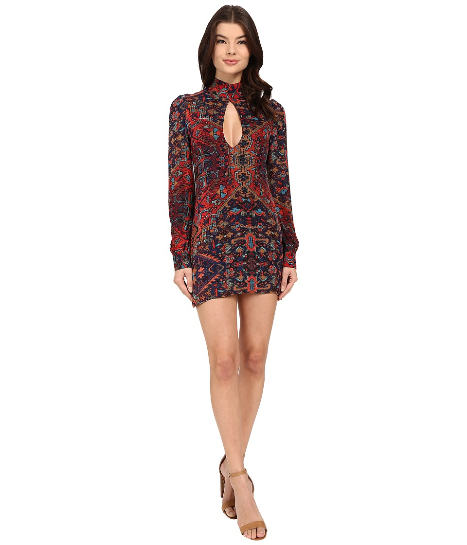 Stone Cold Fox - Victoria Dress (Print) Women's Dress