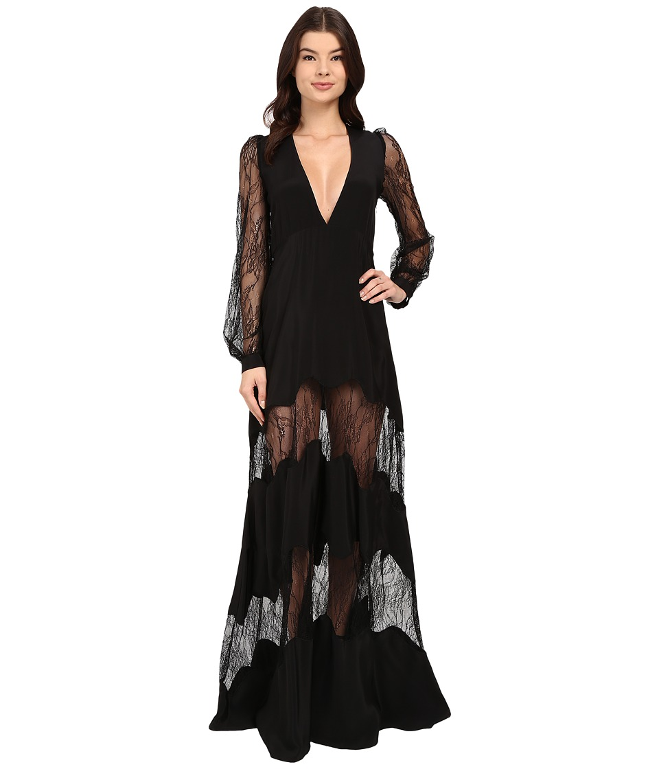 Stone Cold Fox - Friar Gown (Black) Women's Dress