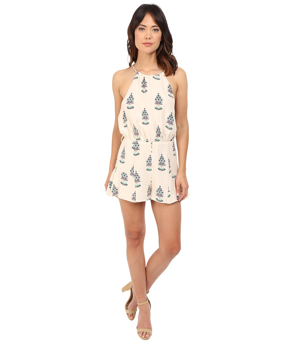 Stone Cold Fox - Romeo Jumper (Ivory Fleur Print) Women's Jumpsuit & Rompers One Piece