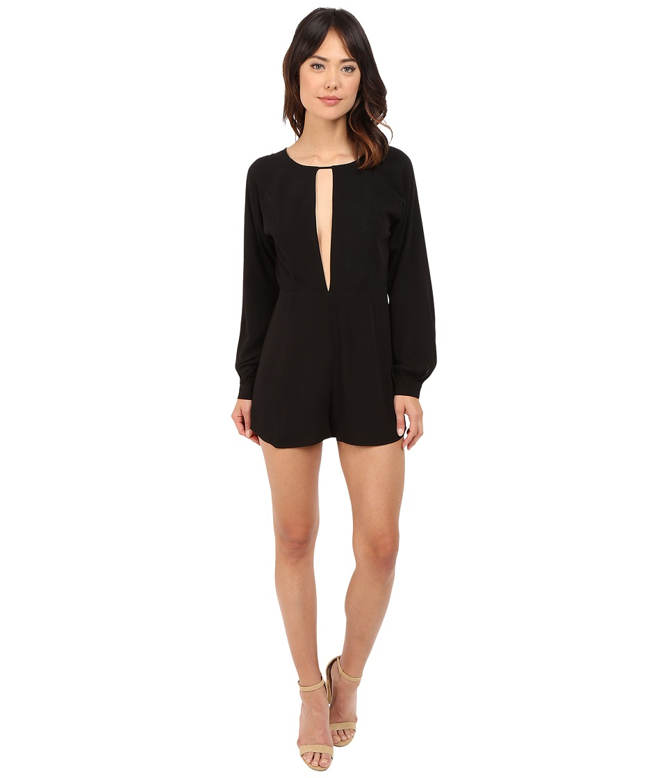 Stone Cold Fox - Siena Jumper (Black Crepe) Women's Jumpsuit & Rompers One Piece