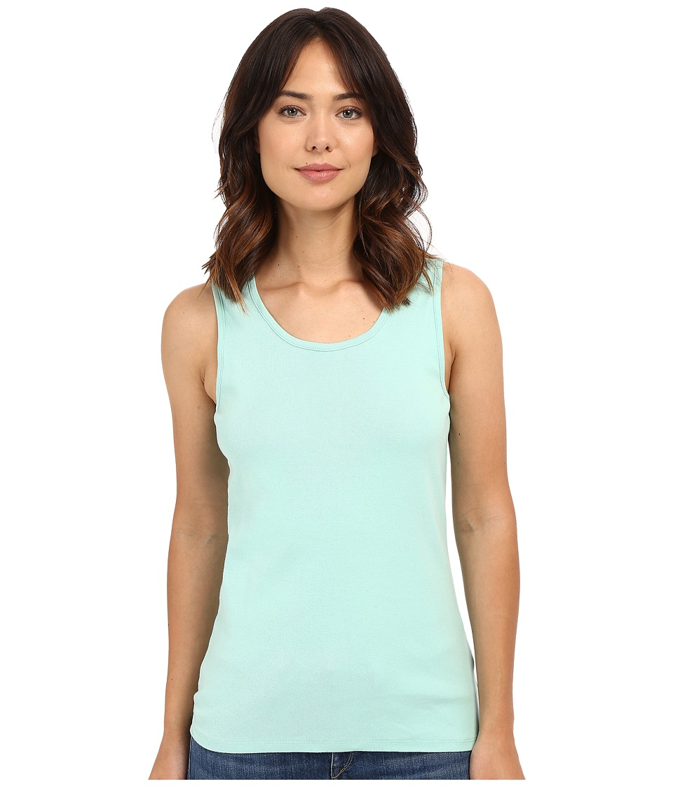 Pendleton - Rib Tank Top (Ocean Wave) Women's Sleeveless
